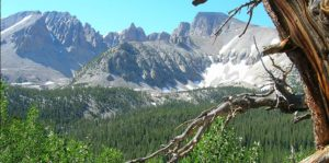 Wheeler Peak at Great Basin National Park